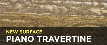 New Surface - Piano Travertine